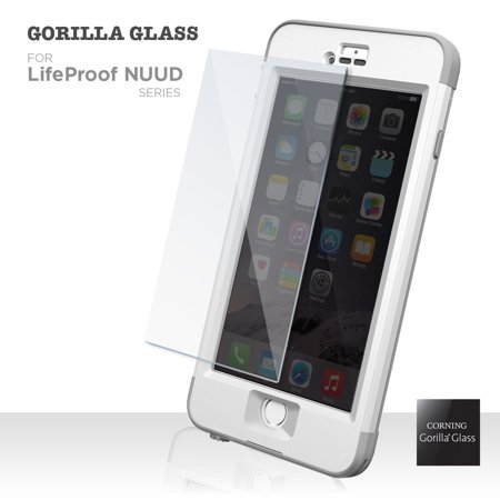 Corning Tempered Glass Screen Protector for LifeProof NUUD Case - iPhone 5 5s [By Encased] (iPhone 5 5s) (Nuud Iphone 5 Case)