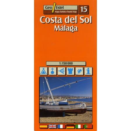 Costa Del Sol (Malaga) Tourist Map 1:150 000 (Tourist Maps) (Map)