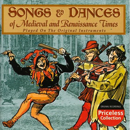 Songs & Dances of Medieval & Renaissance Times - Songs & Dances of the Medieval and Renaissance Times [CD] - Renaissance Medieval Dresses