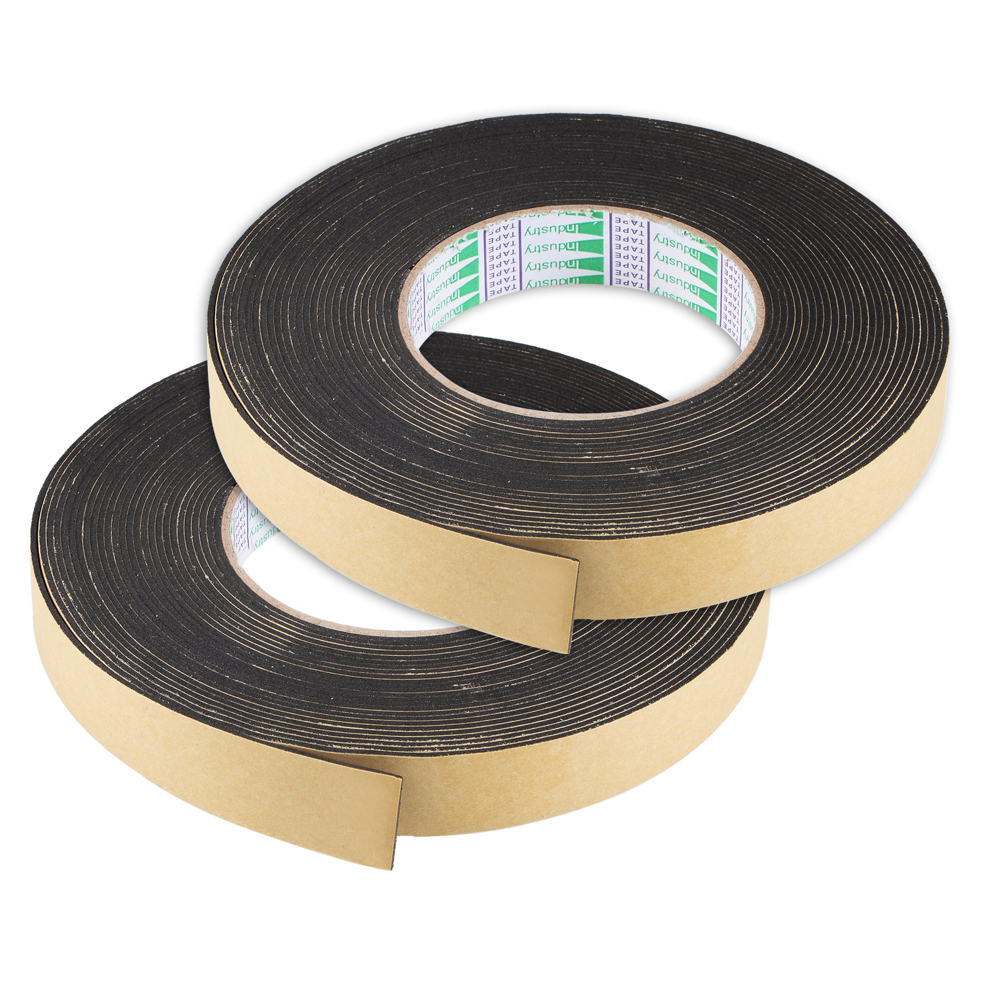 Sealing Foam Tape 10mmx2mmx10m EVA Self Adhesive Weather Strip for Window Door