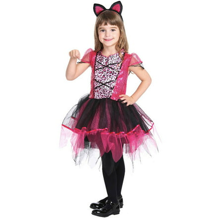 Pink Cat Child Halloween Costume