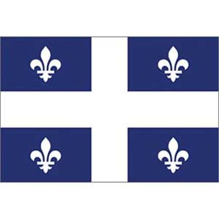 Quebec Flag On A Stick 12