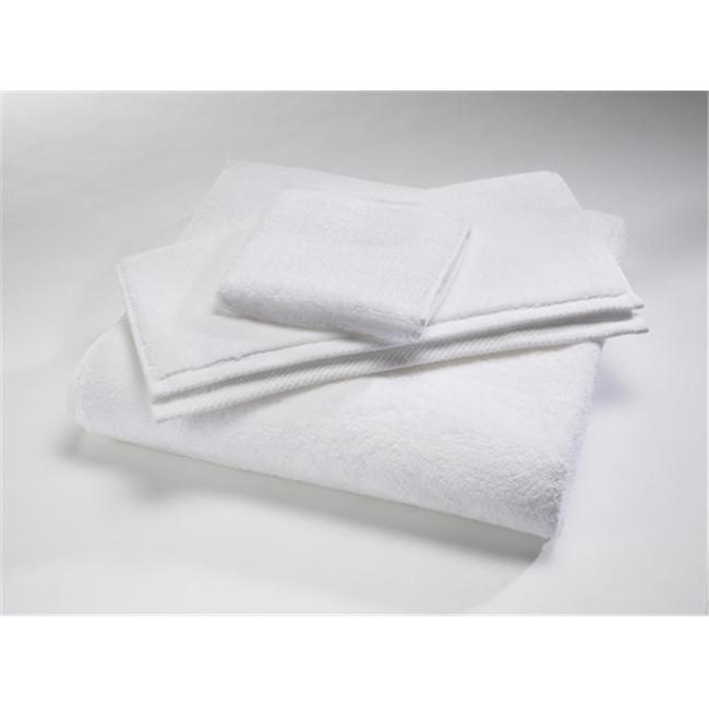 Home Source 10102SHW01 100 Percent Cotton Shower Towel - White