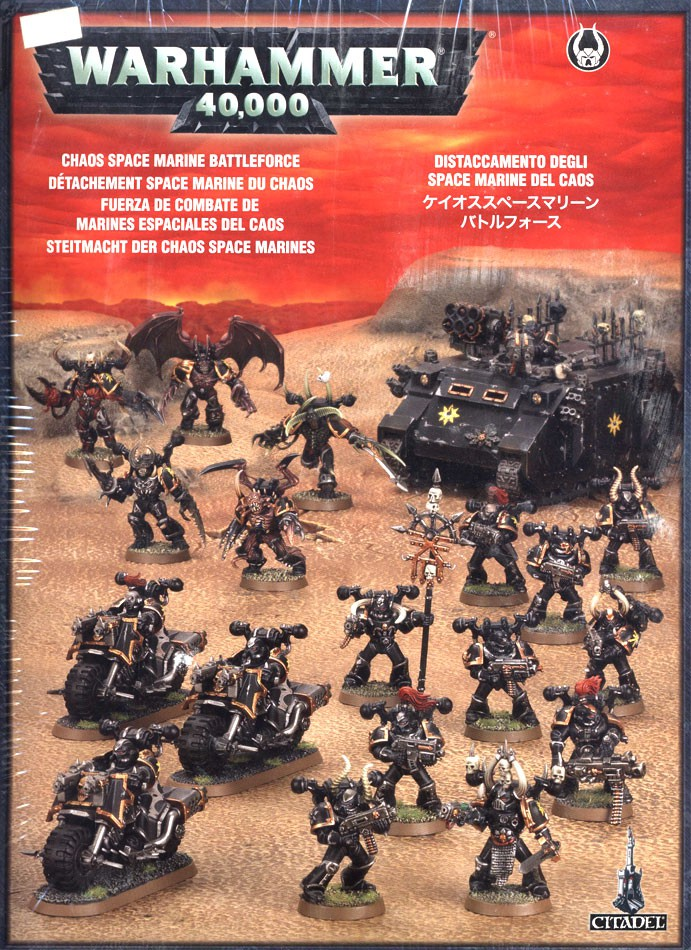 Warhammer 40,000 Chaos Space Marines Chaos Space Marine Battleforce Set [Out of Print] by