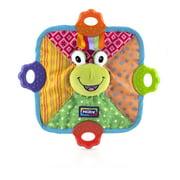 Nuby Comfort Teether Teething Blankie, Frog