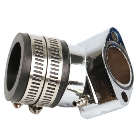 Option Racing Intake - Aluminum Alloy Performance Racing Intake Manifold for GY6 150cc Engines Chinese Scooter GoKart