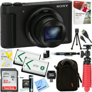 Sony Cyber-shot HX80 Compact Digital Camera with 30x Optical Zoom (Black) + 32GB - Best Reviews Guide