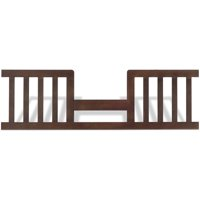 Child Craft Abbott Toddler Guard Rail, Rich Walnut