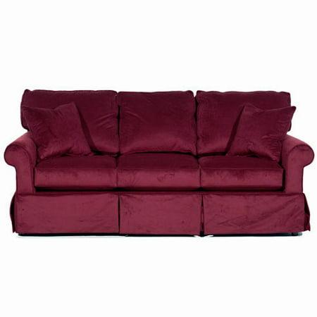 Cranberry Sofa Slipcover