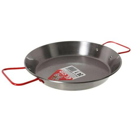 """Garcima Paella pan, Paellera for 1-2 servings 9.5"""" 24 cm"""