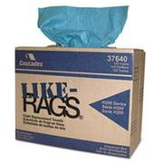 Csd 37640 Like-Rags Spunlace Towels, Blue - 9. 75 x 16. 75 inch