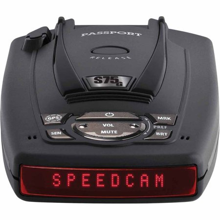 Escort Passport S75 Radar Detector W  Bsm Filter   Gps W  Auto Lock