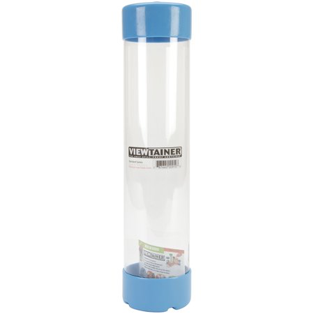 """Viewtainer Slit Top Storage Container 2.75""""X12""""-Sky Blue - image 1 of 1"""