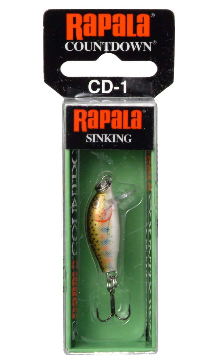 "Rapala CountDown 1"" 1 16 oz Minnow Lure, Brook Trout by Rapala"