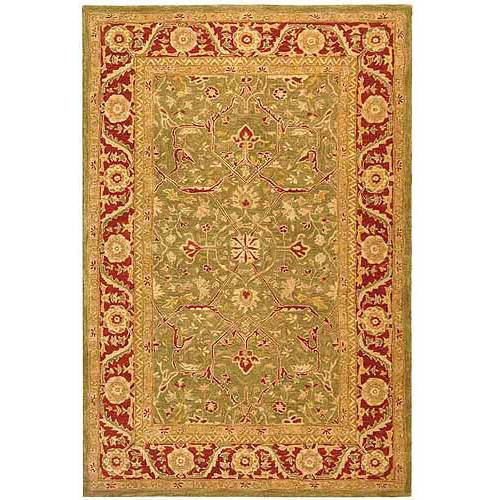 Safavieh Anatolia Tony Hand-Tufted Wool Area Rug, Green/Red