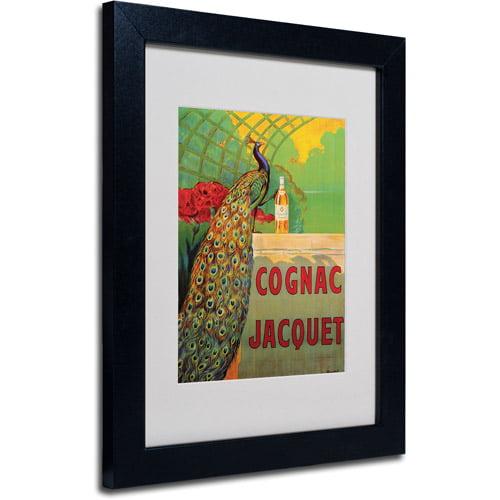 Trademark Fine Art 'Cognac Jacquet' Framed Matted Art by Camille Bouchet