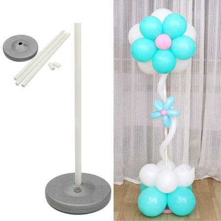 1Set Balloon Column Base Stand Display Kit Water Fillable Base,  Botton Birthday Wedding Birthday Party Decoration Supplies - Wedding Supply Store