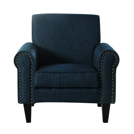 Incadozo Upholstered Accent Chair With Nailhead Trim Walmartcom