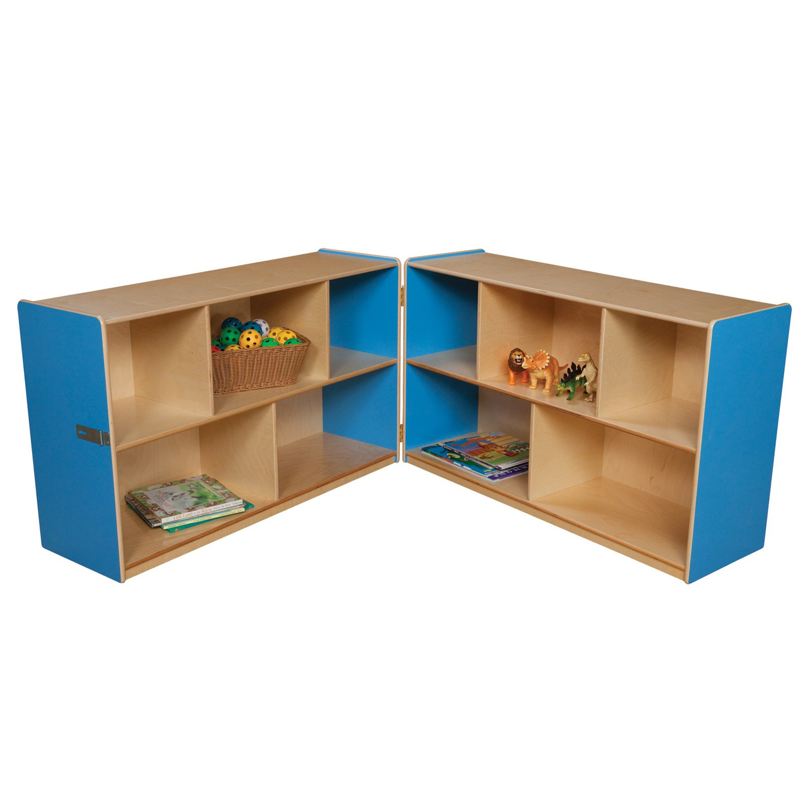 Wood Designs 30H in. Folding Storage
