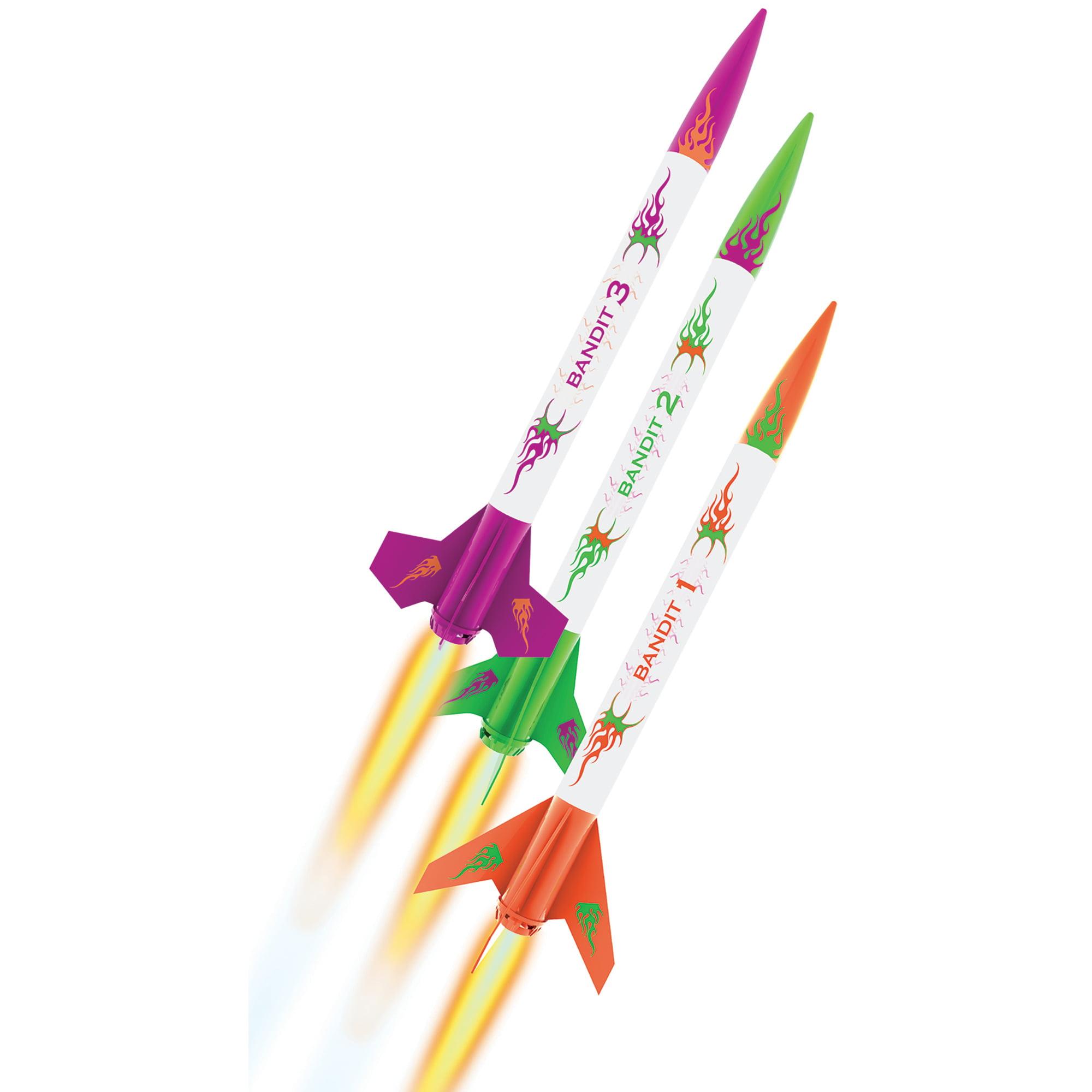 Estes 3 Bandits Flying Model Rocket Kits by Estes-Cox Corp.