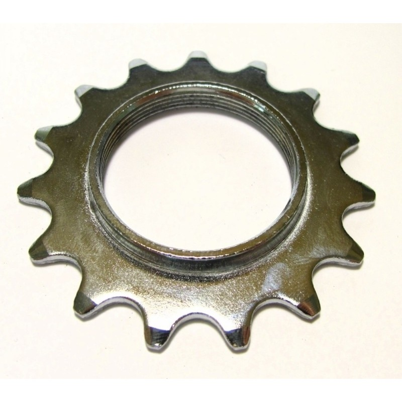 "Cyclists' Choice 15T Track Cog 1/2X1/8"" Silver"