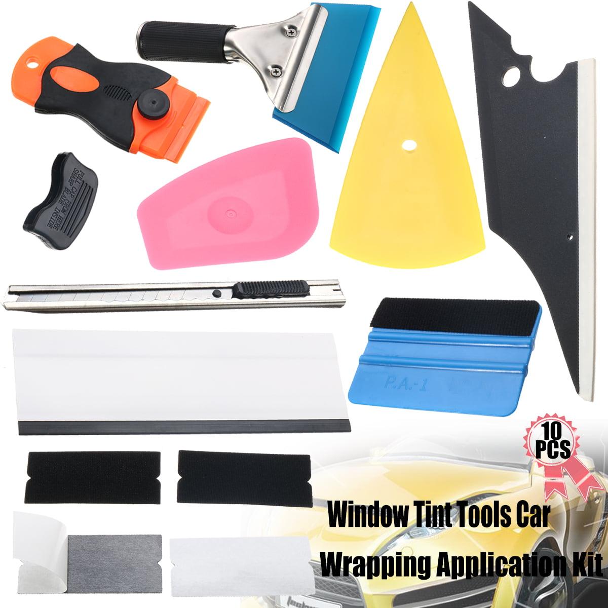 Eco Vinyl Wrap Application Window Tint Install Tools Kit Car Sticker Squeegee UK