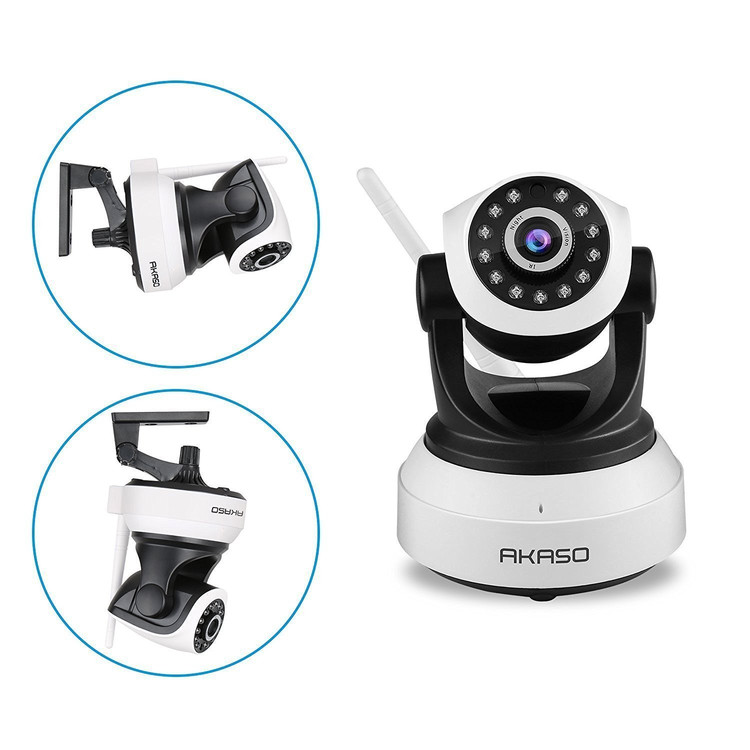 720P Wireless WiFi IP Camera Pan/Tilt Security P2P Camera Night Vision CCTV