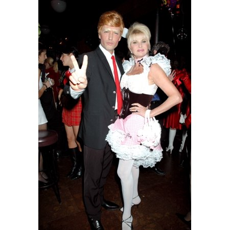 Rossano Rubicondi And Ivana Trump At The Annual Michele And Frank Rella Halloween Party Ny October 28 2004 Celebrity - Halloween Celebrity
