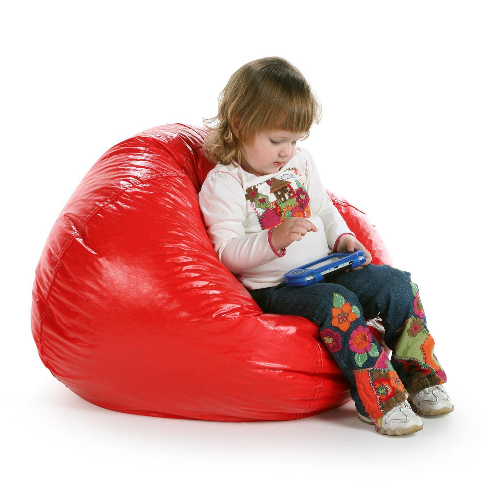 Small Standard Vinyl Bean Bag Chair Walmart