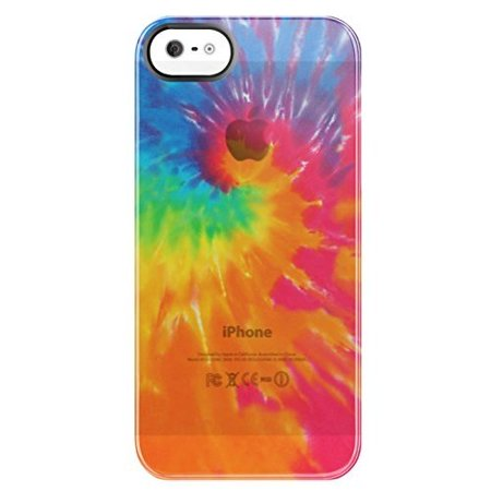 Uncommon Rainbow Swirl iPhone 5 Frosted Deflector with Free Screen - Rainbow Swirl
