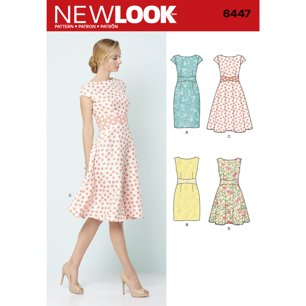 Simplicity New Look Misses' Easy Dress Pattern, 1 Each