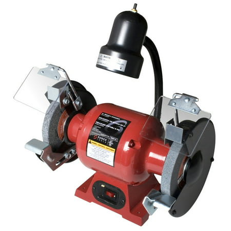 Bench Grinder W/Light 6