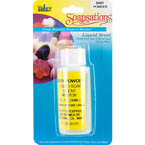 Soapsations Liquid Scent 1 Ounce Bottle-Baby Powder