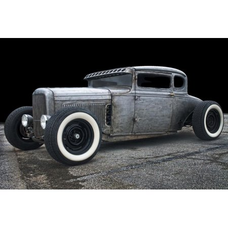 1931 Coupe Rat Rod Print Wall Art By Lori Hutchison