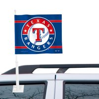 WinCraft Texas Rangers Double-Sided Car Flag - Royal Blue - No Size