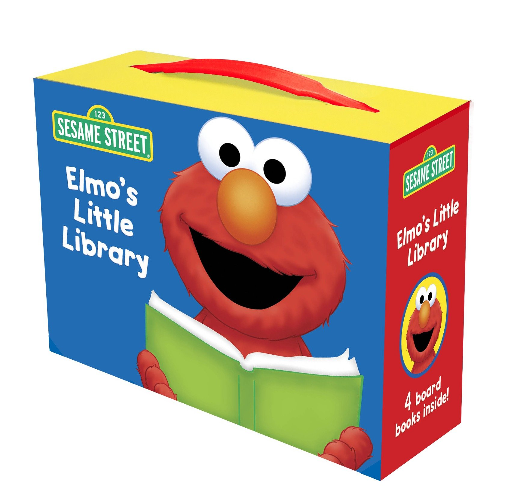 Elmos Little Library Elmos Mother Goose (Board Book)