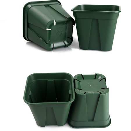 Breathable Plastic Flowerpot Cuttage Planting Plant Pot for Clematis China Rose Decoration - image 3 of 6