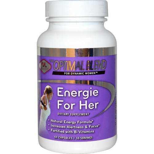 Olympian Labs Optimal Blend for Dynamic Women, Energie for Her, 60 Ct