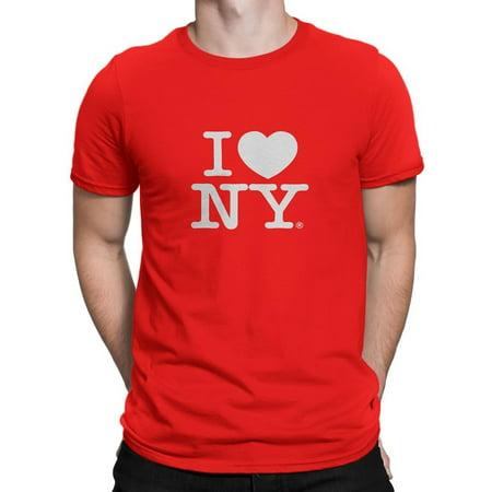 I Love Ny - I Love NY New York Short Sleeve Screen Print Heart T-Shirt Red  Xl - Walmart.com ba4b4cec755