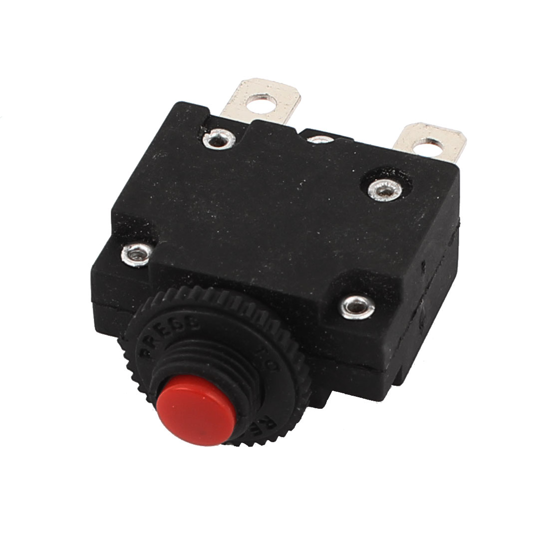 125/250V 10A Circuit Breaker Overload Protector Switch Red Button