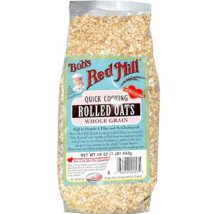 Oatmeal: Bob's Red Mill Quick Cooking Rolled Oats
