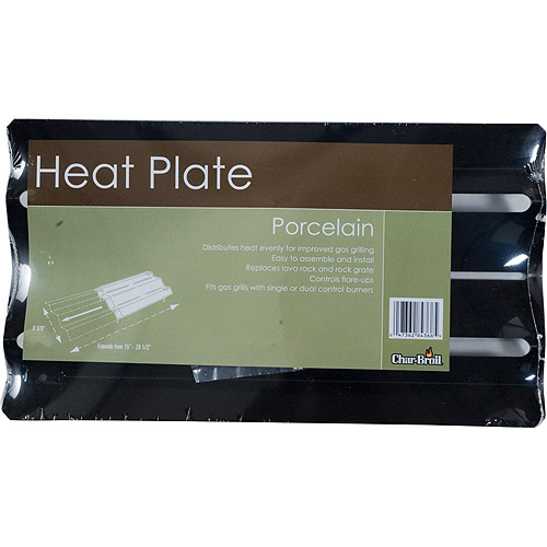 Porcelain Heat Plate for Gas Grills