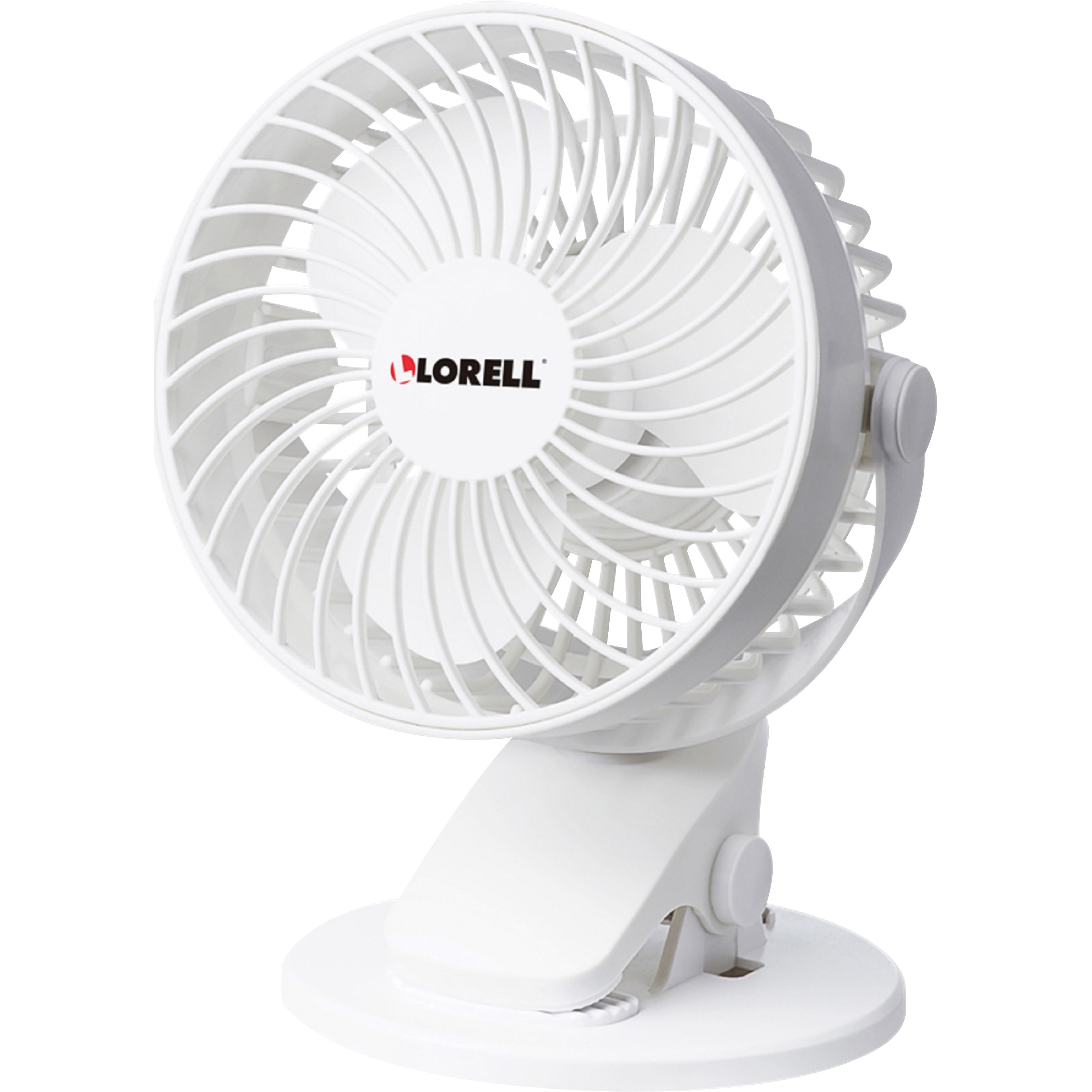 Lorell, LLR44565, USB Personal Fan, 1 Each, White