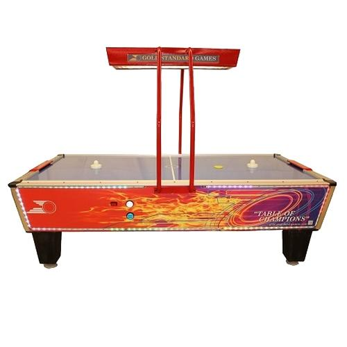 Air Hockey Table by Gold Standard Games - Gold Flare Home Elite