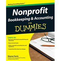 For Dummies: Nonprofit Bookkeeping and Accounting for Dummies (Paperback)