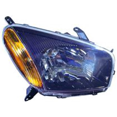 Go-Parts » 2001 - 2003 Toyota RAV4 Headlight Headlamp Assembly Front (with Sport Package + without Bulbs) - Right (Passenger) 81110-42220 TO2503149 Replacement For Toyota RAV4