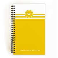 Striped Note - Personalized 5 x 8 Notebook