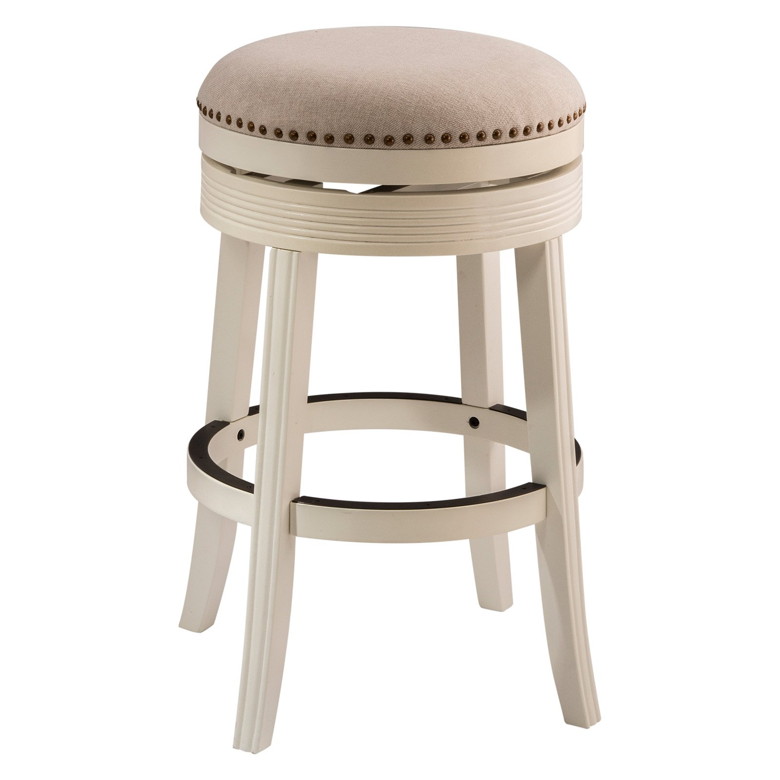 Hillsdale furniture tillman backless swivel bar stool walmart com