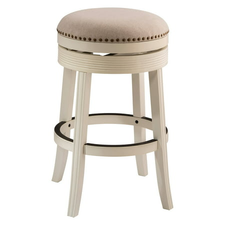 Hilale Furniture Tillman Backless Swivel Bar Stool