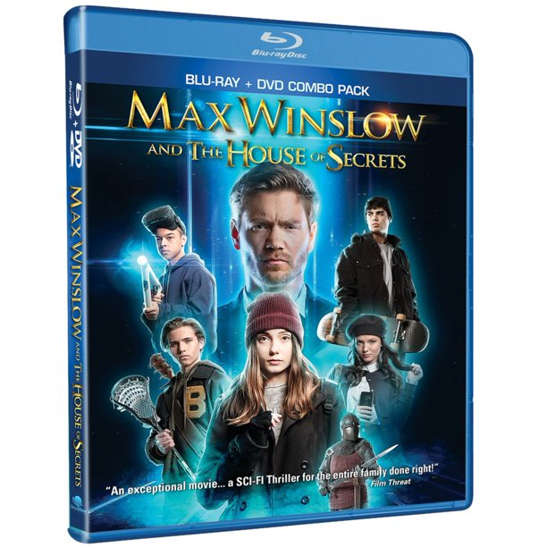 Max Winslow House of Secrets (Blu-Ray + DVD)